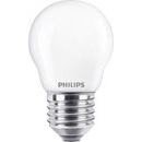 Philips Warm White LED - Lyspærer E27, 40w stor fatning, 2 stk