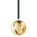 Georg Jensen - Ornament Jule Kugle 2018, forgyldt
