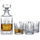 Lyngby Glas Melodia whiskysæt 5 dele