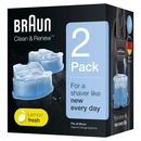 Braun - Clean & Renew 2 pack Lemon fresh