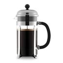 Bodum Chambord French Press stempelkande 8 kopper 1,0 ltr Durable BPA Free