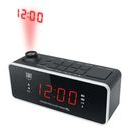 Madrid - digitalt clock radio med projektor
